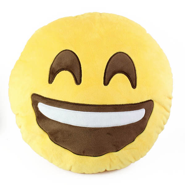 Top Trenz Smiley Emoji Pillow