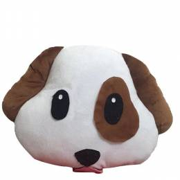 Top Trenz Dog Emoji Pillow