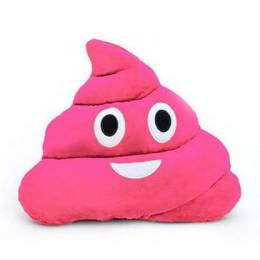Top Trenz Strawberry-Scented Poop Emoji Pillow
