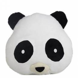 Emojicon Panda Smiley Emoji Pillow