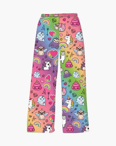 100% Unicorn Fuzzy Lounge Pants