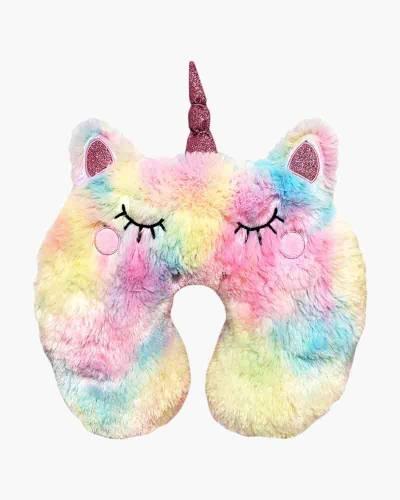 Furry Unicorn Travel Neck Pillow