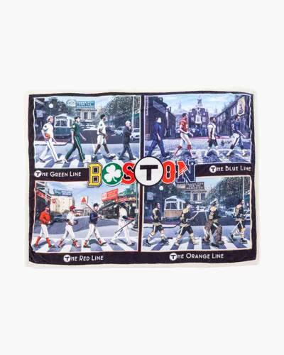 T-Pass Boston Sports Blanket