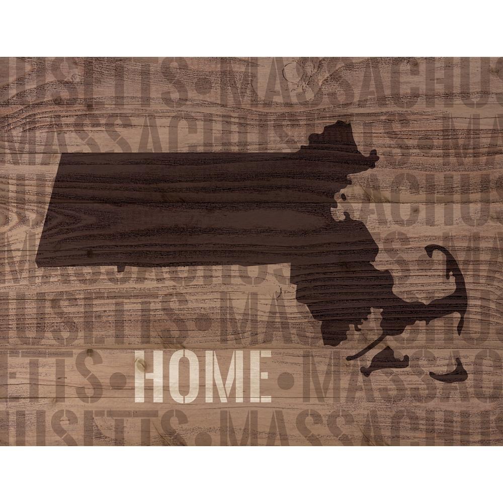 P. Graham Dunn Massachusetts Lath Art Reclaimed Wood Sign - P. Graham Dunn Massachusetts Lath Art Reclaimed Wood Sign The