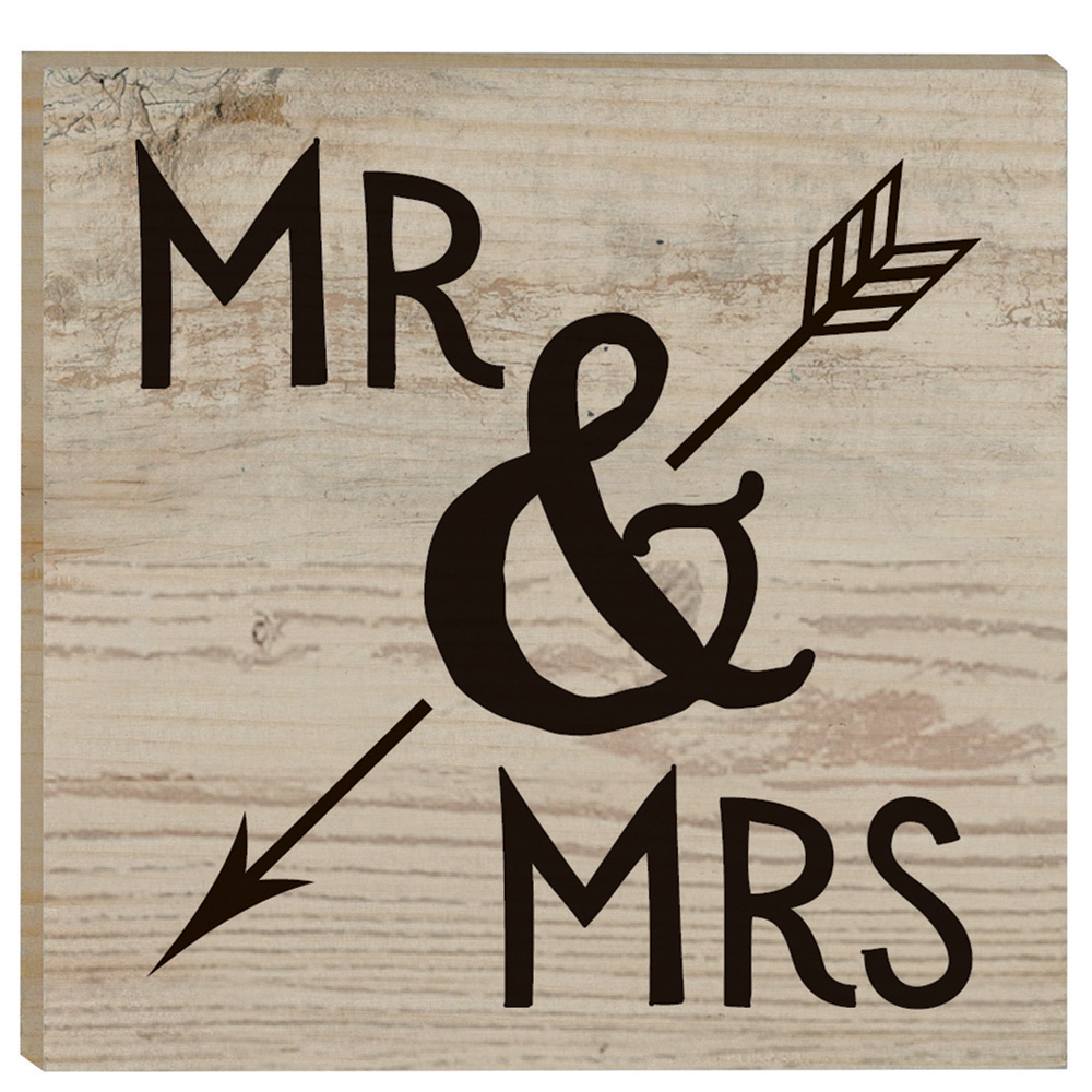 P. Graham Dunn Mr. and Mrs. Rustic Magnet