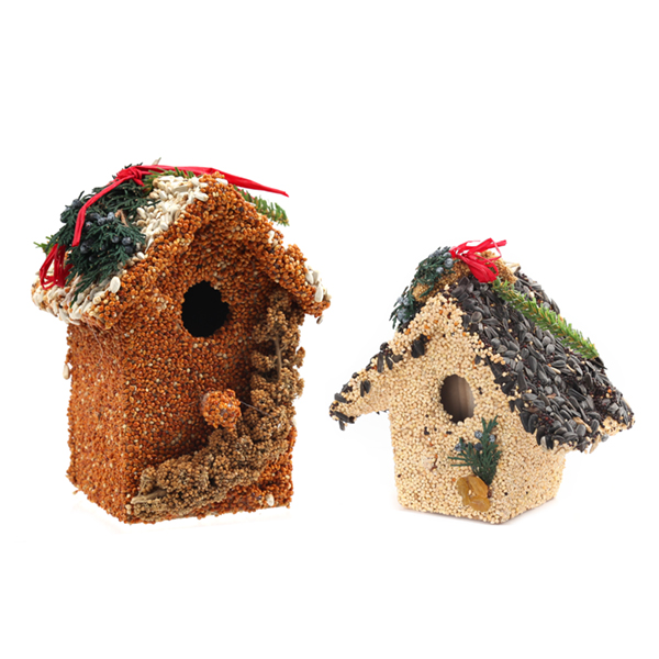 Mr. Bird Holiday Birdie Cottage Treat (Assorted)