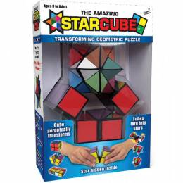 California Creations The Amazing Star Cube Transforming Geometric Puzzle