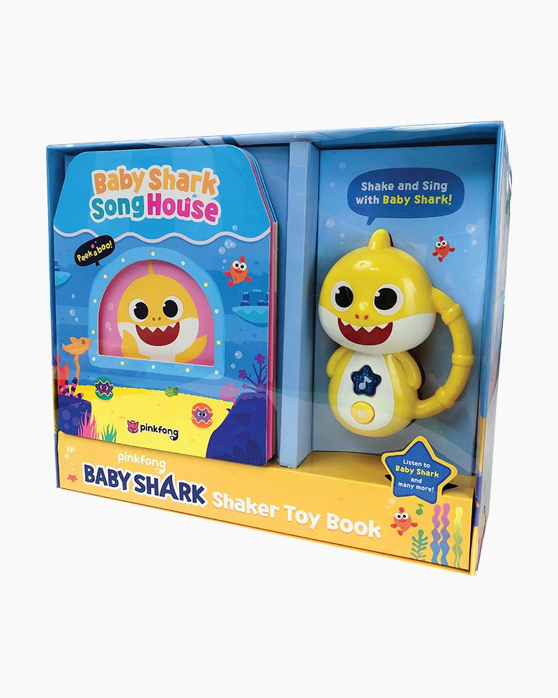 Pinkfong Baby Shark Song House Toy and Book | The Paper Store