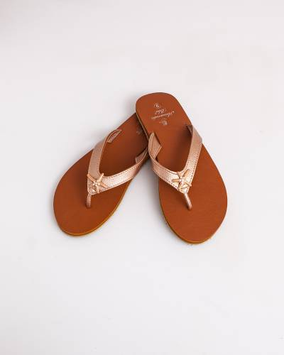 Rose Gold Starfish Sandals