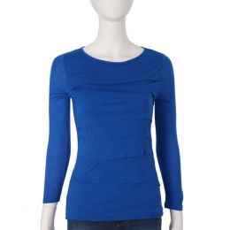 Spense Knits Blue Layers Top