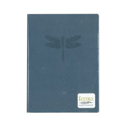 Eccolo Blue Dragonfly Lined Journal