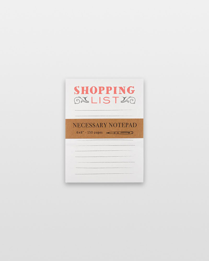 Eccolo Shopping List Oversized Notepad