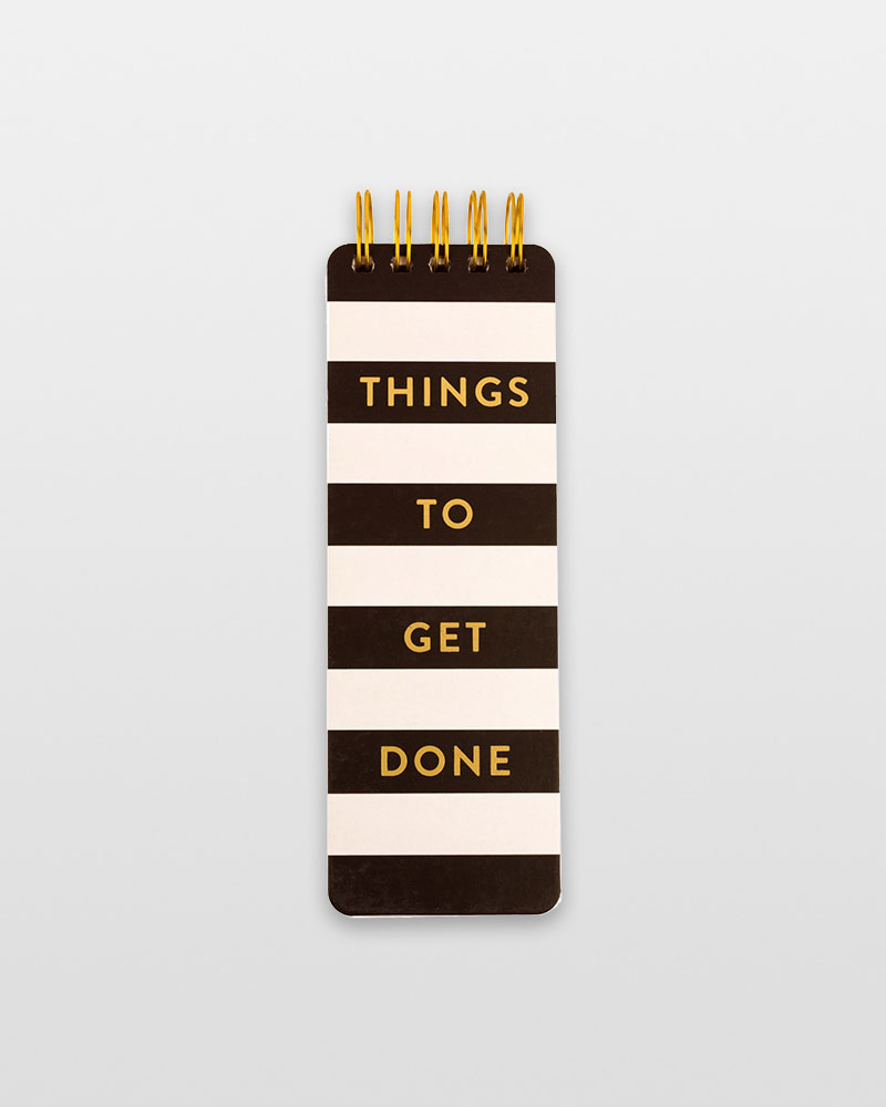 Eccolo Things to Get Done List Pad