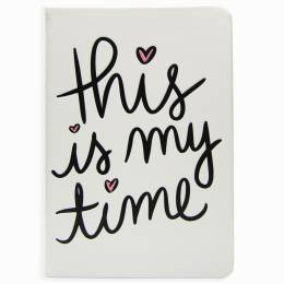 Eccolo Inspirational Statement Journal (This is My Time)