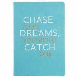 Eccolo Inspirational Statement Journal (Chase Your Dreams)