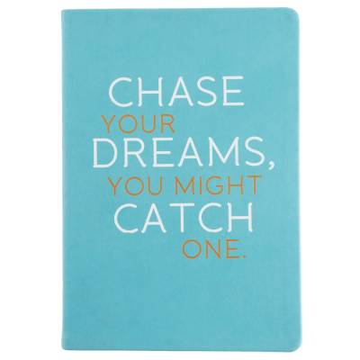 Inspirational Statement Journal (Chase Your Dreams)