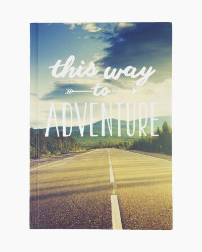 This Way to Adventure Travel Journal