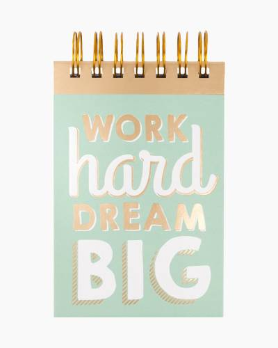 Work Hard Dream Big Traveler Notepad