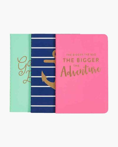 Anchors Pocket Jotters Journal Set (3-Pack)