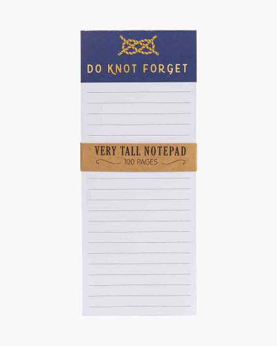 Do Knot Forget Very Tall Notepad