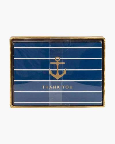 Anchor Boxed Thank You Notes