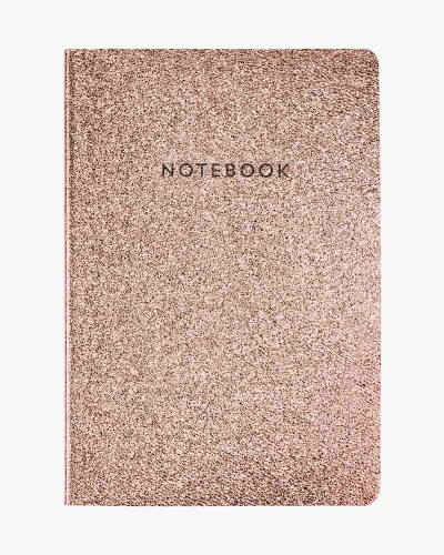 Rose Gold Glitter Ultra-Flexi Journal