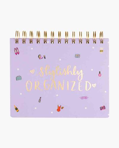 Stylishly Organized Spiral Planner Pad