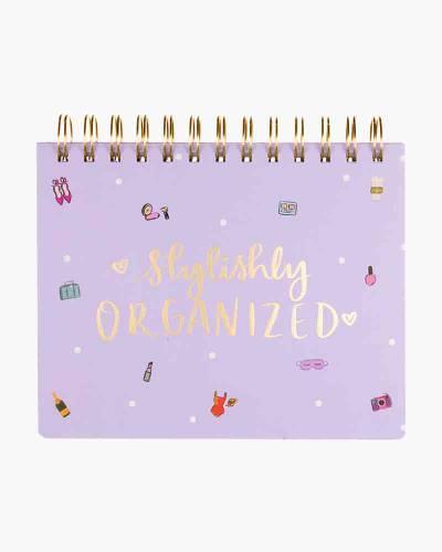 Stylishly Organized Spiral Planner Pad