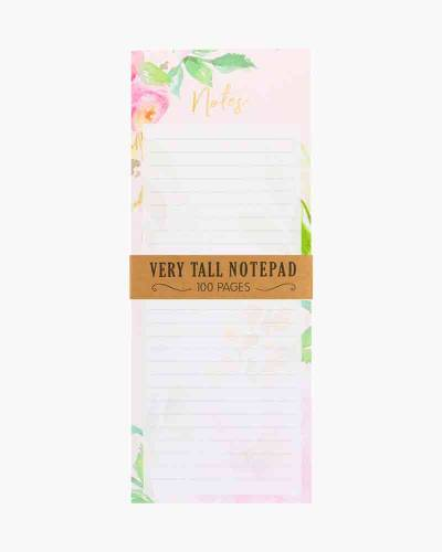 Floral Very Tall Notepad