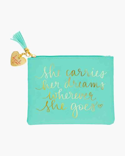 She Carries Her Dreams Dayna's Signature Pouch