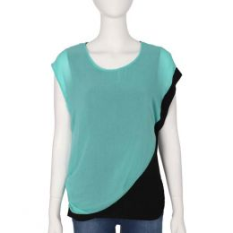 Carol Rose Double Layer Sleeveless Top