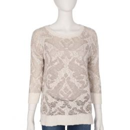 VIP Ivory Knit Sweater