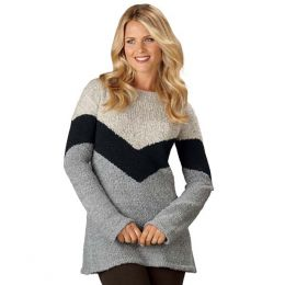 B.Boston Associates Chevron Sweater