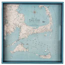 rockflowerpaper Cape Cod and the Islands Wooden Tray
