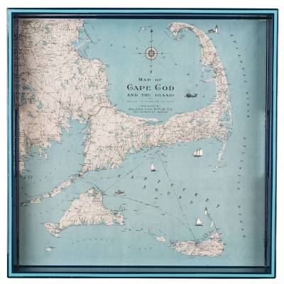 Cape Cod and the Islands Wooden Tray