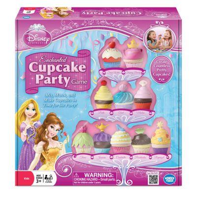 Disney Princess Cupcake Party