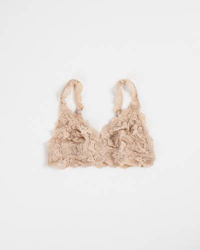 Lace Bralette in Nude