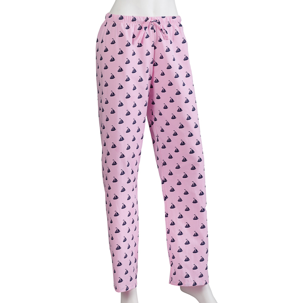 Gotkeys Pink Sailboat Pajama Bottoms