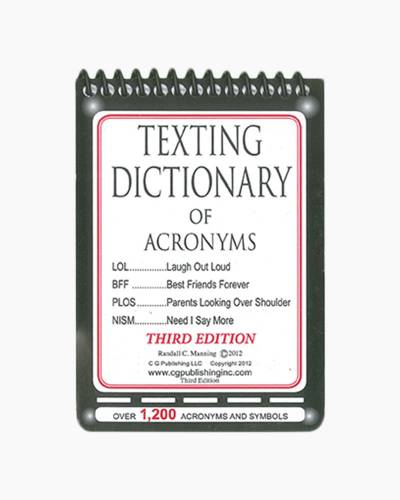 Texting Dictionary of Acronyms