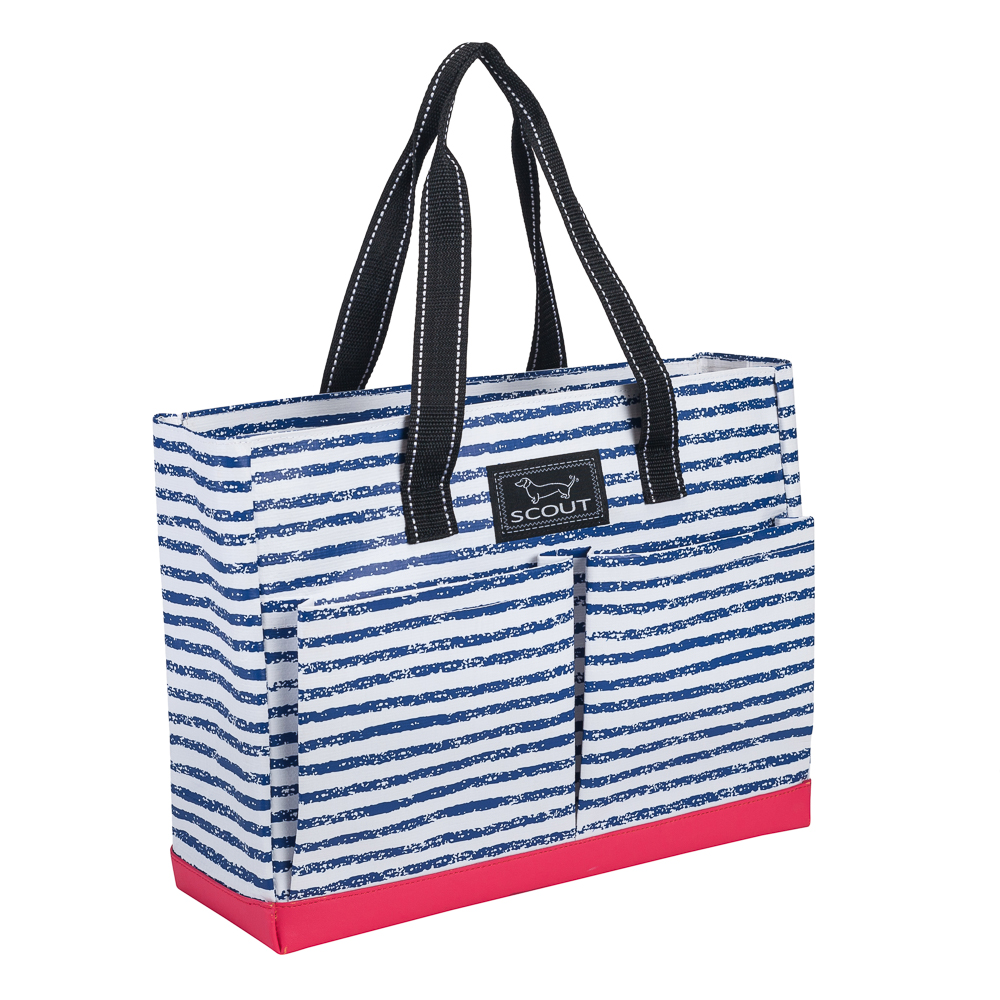 Scout Uptown Girl Tote in Chalk the Line
