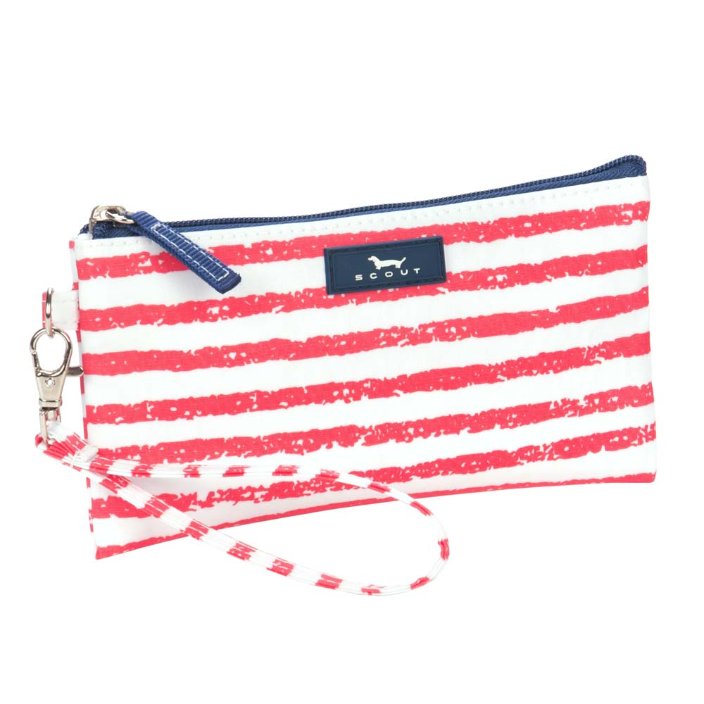 Scout Kate Wristlet in Chalk of the Town