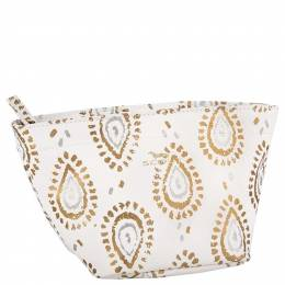 Scout Crown Jewels Cosmetic Bag in Shrimp and Glitz