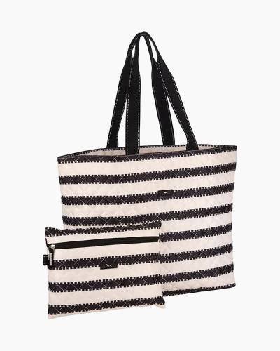 Plus 1 Foldable Tote and Pouch Duo in High Line