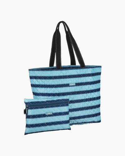 Plus 1 Foldable Tote and Pouch Duo in Tribeca