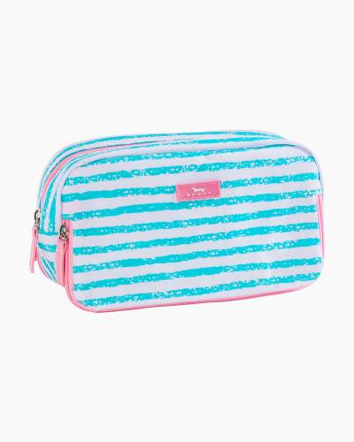 3-Way Bag in Pink and Seafoam Stripe