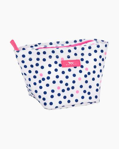 Crown Jewels Cosmetic Bag in Guys and Dots