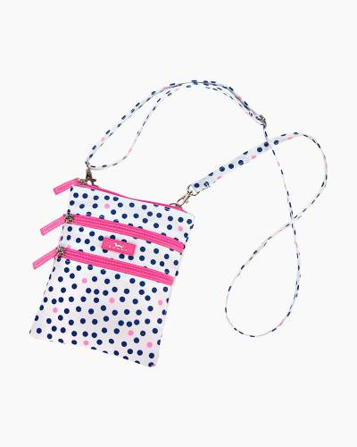 Sally Go Lightly Crossbody Bag in Guys and Dots