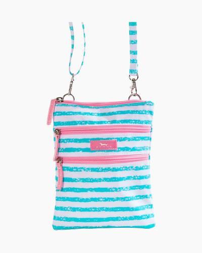 Sally Go Lightly Crossbody Bag in Seafoam Stripe