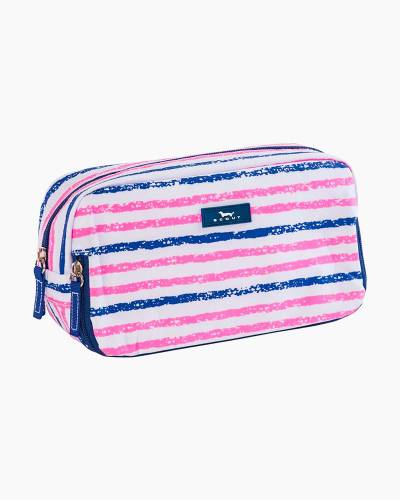 3-Way Bag in Pink and Navy Stripe
