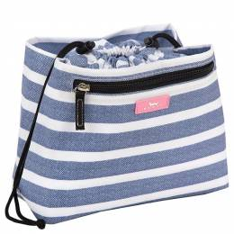 Scout Glam Squad Makeup Bag in Oxford Blues